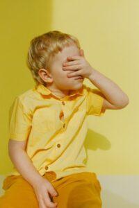Laps tunneb piinlikkust